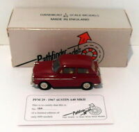 Pathfinder Models 1/43 Scale PFM29 - 1967 Austin A40 MKII 1 Of 600 Red