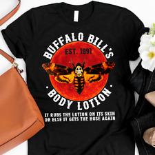 Buffalo Bill's Body Lotion The Silence of The Lambs Halloween Horror T-Shirt