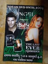 BUFFY THE VAMPIRE SLAYER / ANGEL PROMO POSTER
