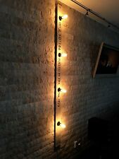 Vintage Wandlampe 2m Beige E27 Loft Design Edison Retro Industrie Lampe Leuchte