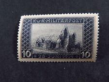 Stamp Osterreich Austria KuK Militärpost Error Double Print ** MNH 28 Juni 1914