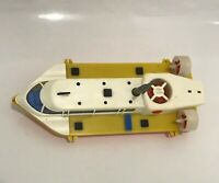 Vintage USSR mechanical toy Key Rare Boat 60s-70s WORKiNG