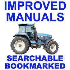 New Holland 70 Series - 8670 8770 8870 8970 Tractor Service Repair Shop Manual