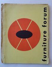 Furniture Forum, Summer 1957, Vol 8 No 2, Phillip Pritchard, Contemporary Design