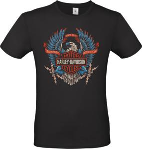 Maglietta uomo Harley Davidson Legend Vintage idea regalo t shirt moto biker