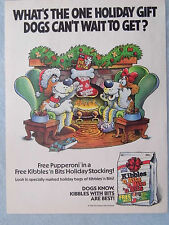 1990 Magazine Advertisement Ad Page Kibbles 'n Bits DogFood Energizer Batteries