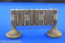 Vintage Chinese Trench Art Pen / Pencil Holder with Goodluck Sign