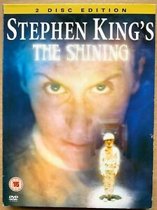 The Shining DVD Stephen King Haunted Hotel 1997 Horror / TV Mini Series Digipak