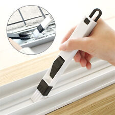 Multipurpose Window Door Keyboard Cleaning Brush Cleaner+Dustpan 2 In 1 Tool NEW