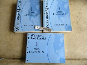 2006 Ford Lincoln LS Wiring Diagrams & Service Manuals Manual OEM
