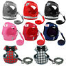 Escape Proof Cat Walking Jacket Harness Leash Small Dog Pet Puppy Vest Clothes