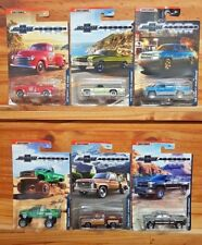 Matchbox 2018 100 years CHEVROLET TRUCKS Set of 6 - Walmart US Exclusive (A+/*A)