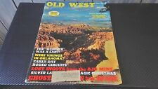Old West Non-Fiction Magazine Winter 1969 True West Frontier Times