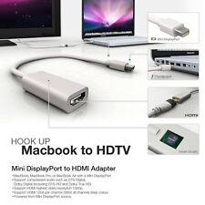 MINI DISPLAYPORT/THUNDERBOLT TO HDMI ADAPTER FOR APPLE MACBOOK AIR PRO MAC IMAC
