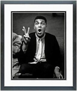 "Muhammad Ali Clowning Around Photo (Size: 12.5"" x 15.5"") Framed"