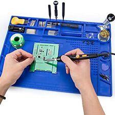 Soldering Mat 932f Heat Resistant Magnetic Multi Purpose Repair Anti Static Mat