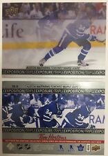 2017/18 Tim Hortons UD TRIPLE EXPOSURE AUSTON MATTHEWS TE 5 Clear Cut *L@@K*