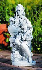 """Putte """" FRUTTINA """" 45 cm Gartenfigur aus Kunststoff in Steinnachbildung"""