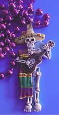 Mexican Bead Mardi Gras Birthday Party Gift Necklace