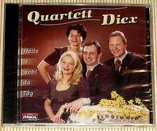 NEU, OVP CD - Qartett Diex - Heite is wohl da Tag - 17 Lieder der Volksmusik