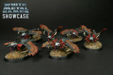 Warcry 6 Raptoryx Painted Chaotic Warbeasts Age of Sigmar Chaos No Cards Includ.
