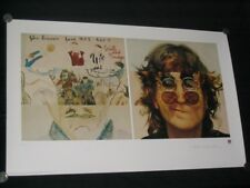 """JOHN LENNON - """"WALLS AND BRIDGES"""" - PLATE/SIGNED MUSEUM STYLE LITHOGRAPH"""