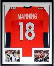 Peyton Manning Autographed Nike Broncos Super Bowl Jersey Steiner COA Framed