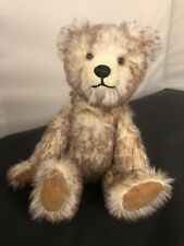 More details for mohair jointed artist teddy bear of bottesford fully jointed 10inch
