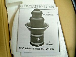 RIVAL CHOCOLATE FOUNTAIN MODEL CFF5-B