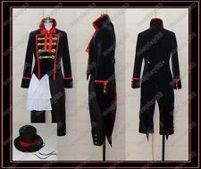 Black Butler Kuroshitsuji Drocell Cosplay Costume Any S