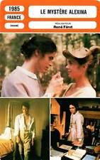 FICHE CINEMA : LE MYSTERE ALEXINA - Vuillemin,Stroh,Féret1985 Mystery of Alexina