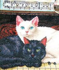 "#70-35269 DIMENSIONS ""EBONY AND IVORY"" CAT KITTEN COUNTED CROSS STITCH KIT - NIP"