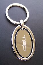 TRD Chrome Spinner Key Chain Ring Key Fob Toyota Scion Lexus Keychain Tacoma NEW