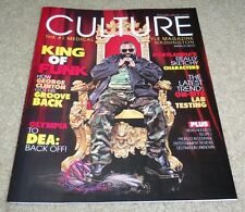 GEORGE CLINTON P FUNK CULTURE MAGAZINE MARCH 2012 FUNKADELIC MEDICAL MARIJUANA