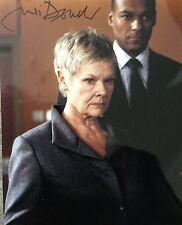 Judi Dench signed 10x8 Image D photo (UACC Registered AFTAL approved dealer COA)