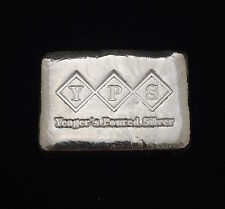 YPS 3 Ounce Fattie Poured Bar  999 Fine Silver