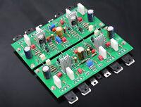 One pair Assembled HM2S Class A Power amplifier base on KELL-KSA50 amp 50W+50W
