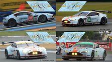 Decals Aston Martin Vantage GTE Le Mans 2013 1:32 1:43 1:24 1:18 87 slot calcas