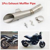 51MM Stainless Steel Motorcycle Exhaust Muffler Pipe Silencer Steel Pipe Slip on