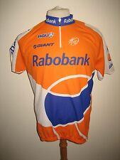 Rabobank 2010 Holland agu jersey shirt cycling wielershirt trikot size L