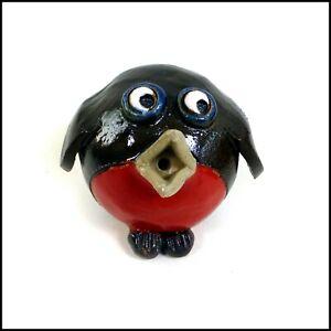 Robin Original Stoneware Handmade Pottery Art by Maggie Betley from Zoo Ceramics