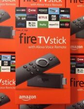 AMAZON FIRE STICK W/ALEXA VOICE REMOTE NEWEST 2ND GENERATION AMAZON FIRE TV BOX
