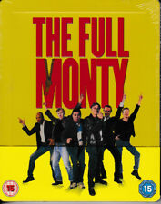The Full Monty - Limited Edition STEELBOOK - Blu Ray - Brand New & Sealed