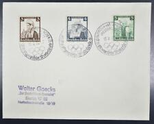 GERMANY 1936 OLYMPICS,special Winter Games Press-Quartier Postmark o Cover,Sport