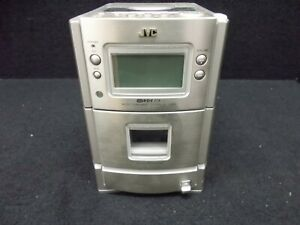 Stereo Kompakt-Anlage JVC UX-T350R,Silver,Without Speakers, # K- 219-2