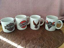 Four (4) Harley Davidson mugs
