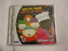 South Park Chef's Luv Shack (Sega Dreamcast) Brand New, Sealed~