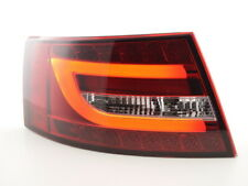 Coppia fari/fanali posteriori LED Audi A6 4F berlina 04-08 rossi/chiari