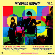 """The Space Agency - The Devil's Saddle/Tiger Paw New 7"""" Inch Vinyl Single"""