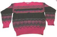 Men's Pendleton Virgin Wool Native American Indian Tribes.Pullover Sweater Large